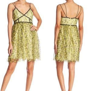 NWT Romeo & Juliet Couture Floral Print Lacy Dress